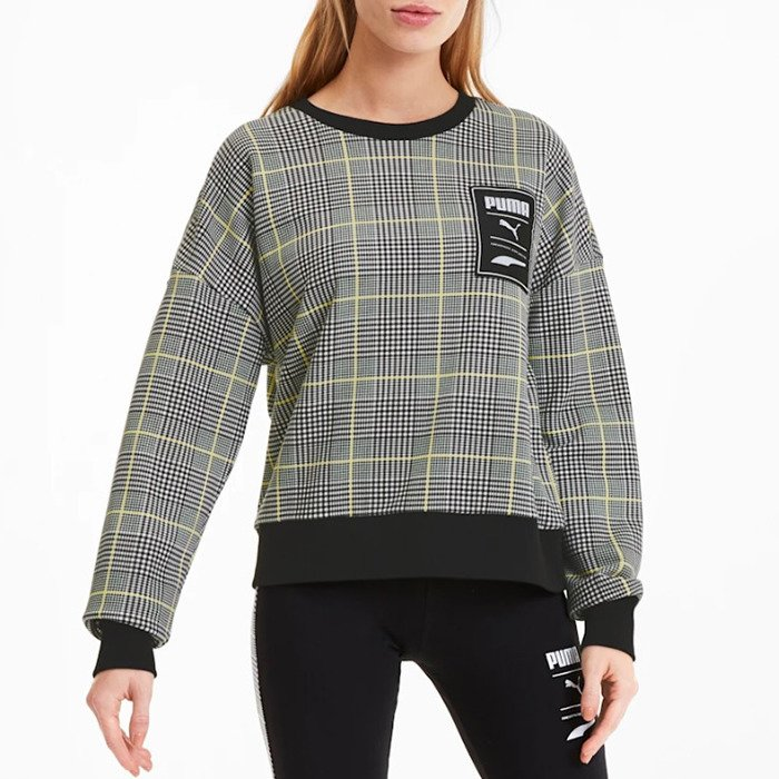 Puma Recheck Pack Crew Sweat Wmns 597892 01