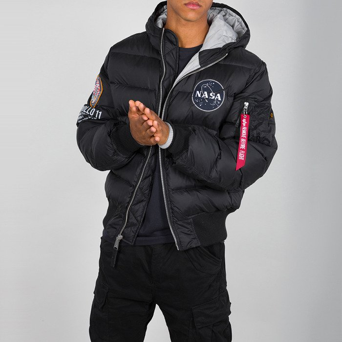 Alpha Industries Hooded Puffer Apollo 11 188142 03