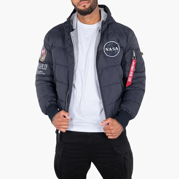 Alpha Industries Hooded Puffer Apollo 11 188142 07