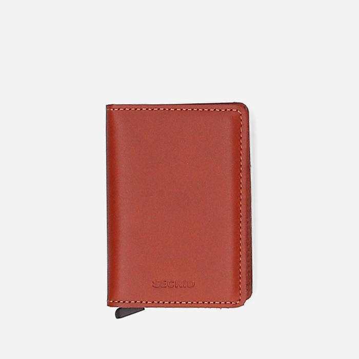 Secrid Slim Original  SO-Cognac-Brown