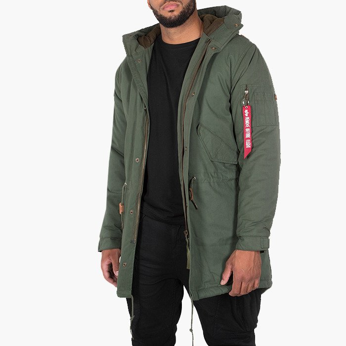 Alpha Industries Hooded Fishtail 188113 142
