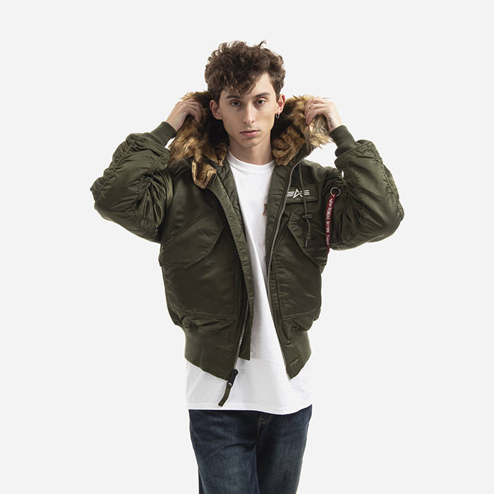 Alpha Industries 45P Hooded Custom 113145 257