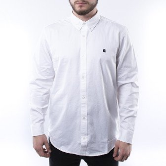 Carhartt WIP Madison Shirt I023339 WHITE/DARK NAVY