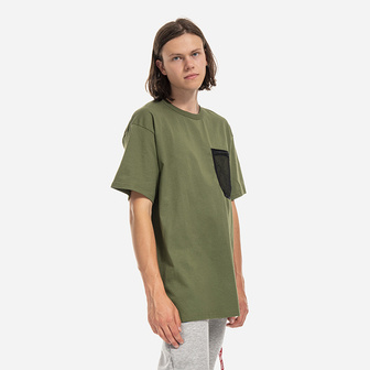 Carhartt WIP S/S Military Mesh Pocket T-Shirt I027729 DOLLAR GREEN