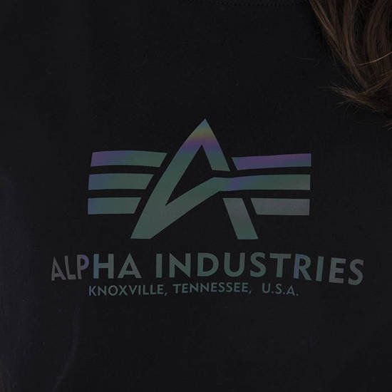 Alpha Industries New Basic Tee Wmn Reflective Print 196051RR 03