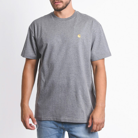 Carhartt WIP Chase I026391 Dark Grey Heather/Gold