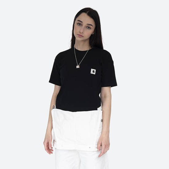 Carhartt WIP W S/S Carrie Pocket T-Shirt I028439 BLACK