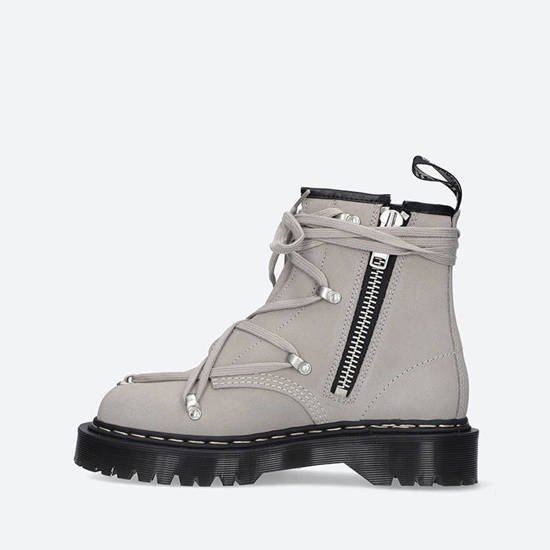 Rick Owens x Dr. Martens 1460 Bex Sole Boot DW21S6807 3696 PEARL
