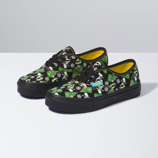 Vans x The Simpson UY Authentic 'Glow In The Dark' VN0A3UIV0GY