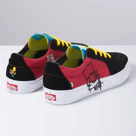 Vans x The Simpsons Sk8-Low VN0A4UUK17A