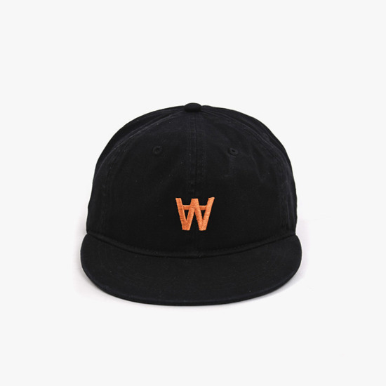 Wood Wood Baseball Cap 11910815-7083 BLACK
