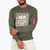 Alpha Industries Camo Block Sweater 198304 142