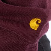 Carhartt WIP W' Hooded Chase Sweatshirt I027481 SHIRAZ/GOLD